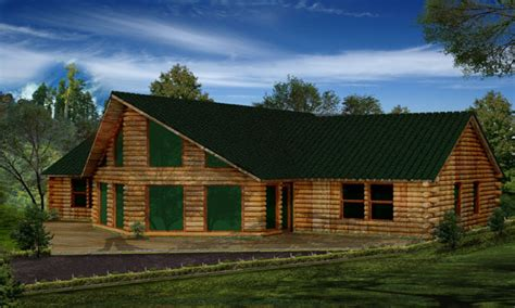 one story log cabins single story log cabin homes single story log cabin plans