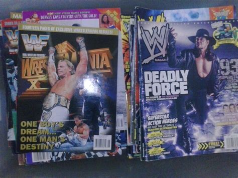 Magazines 2006 Most Annoying List by Store Back Issues Of Wwf Magazine On Sale Now