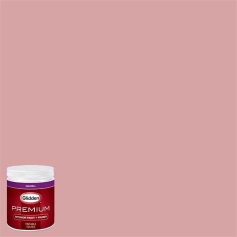 glidden premium 8 oz hdgr48d pink cadillac eggshell interior paint with primer tester hdgr48dp