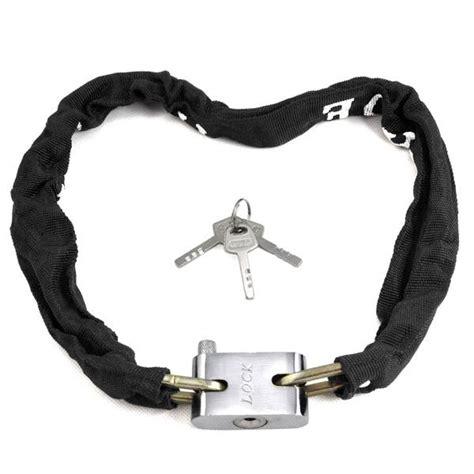 gembok rantai sepeda gembok rantai serbaguna untuk