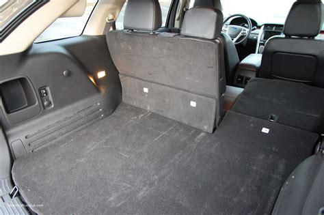 ford edge cargo space motoring rumpus
