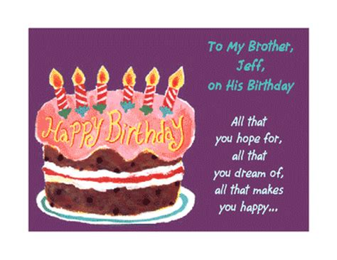 printable birthday cards for a brother what you re wished greeting card happy birthday