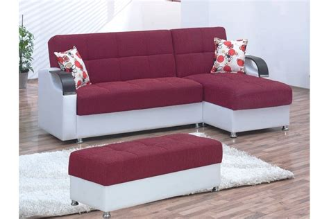 convertible sectionals burgundy convertible