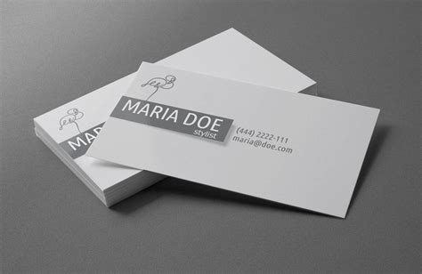 personal card templates for use with word personal stylist business cards free template by