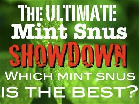 Thunder Nrg Portion Swedish Snus 1 Can snubie mint snus showdown which is the best 11 may