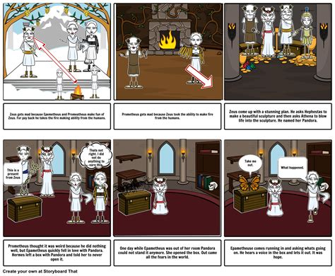 mythos a retelling of the myths of ancient greece books myth comic storyboard by scottnoh0630