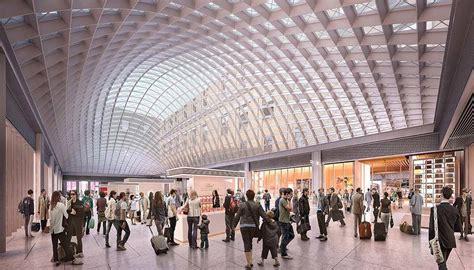 new york station books som unveils new renderings of new york city s 4 5 billion
