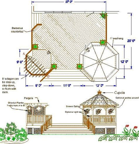 draw deck affordable wood deck design deck rail design plan wood