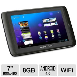 Tablet Android Speedup Pad Genius 8gb arnova by archos 502078 7b g3 tablet android 4