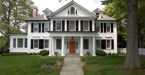 federal style homes meet  preferred style   rich