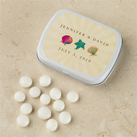 Wedding Mints by Seaside Design Personalized Wedding Mints Favor
