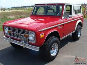 351 shelby 1971 ford bronco original paint both tops no