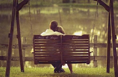 swinging couple pictures bench porch swing engagement pics ideas pinterest