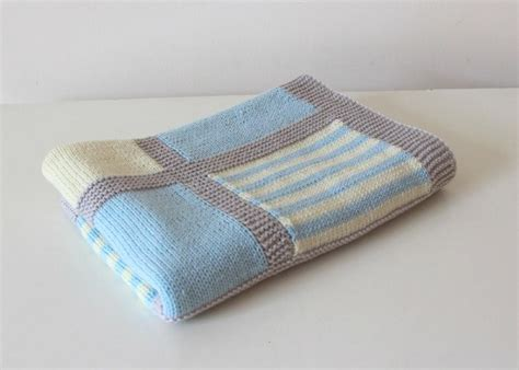 Baby Blanket Knitting Patterns Uk by Baby Blanket Quot Noah Quot