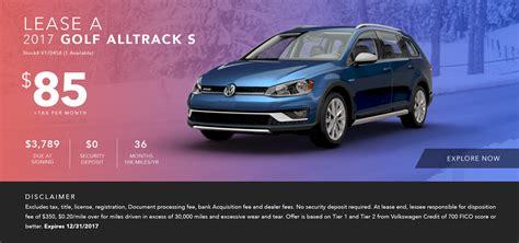 Steven Creek Volkswagen by Golf Alltrack Specials Creek Volkswagen