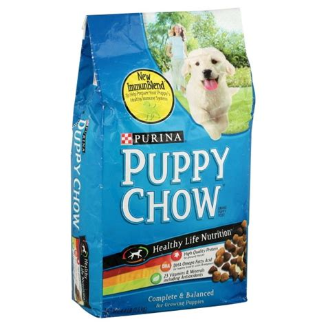 puppy chow food purina puppy chow puppy food complete nutrition formula