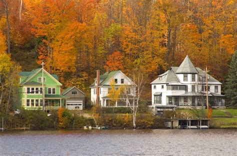 most beautiful towns in america best fall foliage small towns in america leaf peeping