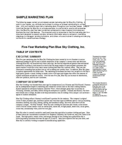 professional marketing plan template 30 professional marketing plan templates template lab