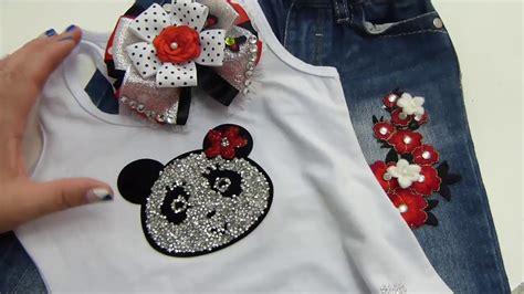 decorar ropa con parches como elaborar lazos doblesde liston decoracion de ropa
