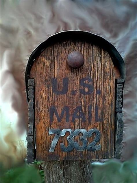 country style mailboxes country style rustic mailbox with metal forging by