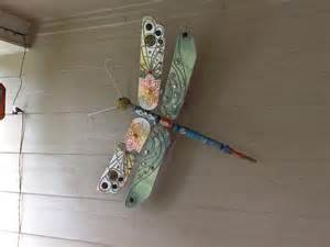 How To Make Ceiling Fan Blades Upcycle Ceiling Fan Blades Into Giant Dragonflies