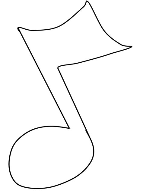 musical note coloring pages coloring