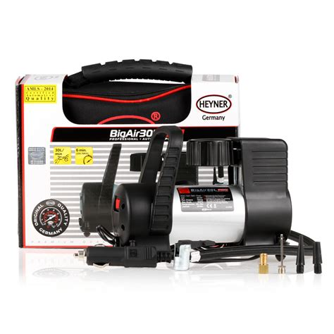 heyner big air 30l 12v air compressor for car bike