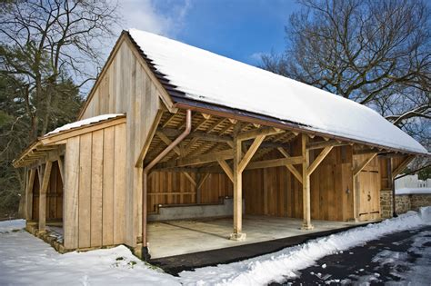 Timber Shed by Hugh Lofting Timber Framing Carriage Shed