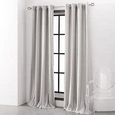 vera wang curtains designers select mayfair stripe rod pocket back tab