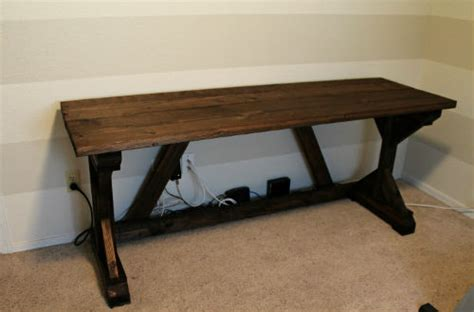 Farm Desk by Away She Went Diy Farmhouse Style Desk