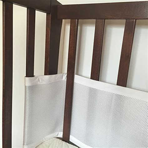 Are Mesh Crib Liners Safe by 22 Premium Safebaby Breathable Mesh Crib Liner