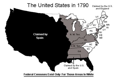 map of us states in 1800s everingham b 1755 1760