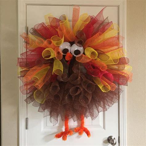 craft wreaths 25 unique turkey wreath ideas on door wreaths