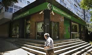 banco esp rito santo portuguese bank fears hit stock markets world news the
