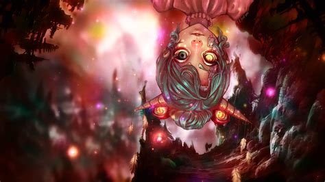 anime demon girl wallpaper eyed demon horn anime girl wallpaper 1920x1080 by iamfx