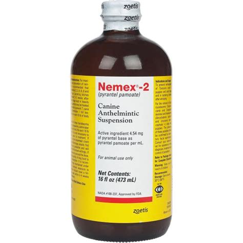 liquid dewormer for dogs nemex 2 liquid wormer for dogs veterinary company