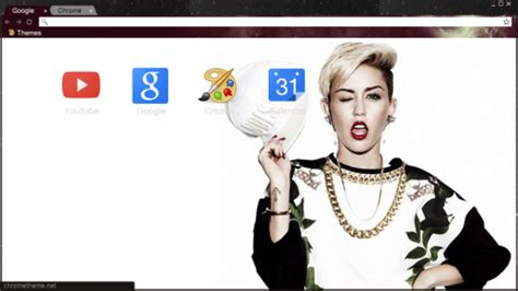 theme google chrome miley cyrus 27 miley cyrus chrome themes desktop wallpapers more