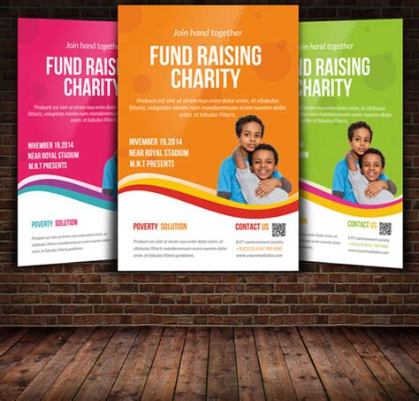 24 Charity Donation Flyers Psd Templates Free Pik Psd Charity Event Flyer Templates Free