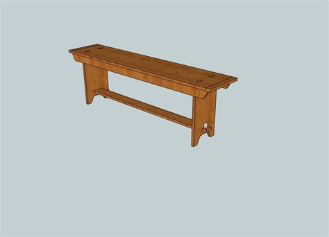 pdf diy shaker style bench plans download self storage