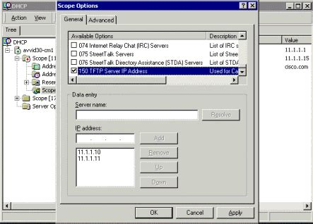 windows resetting stuck at 66 callmanager dhcp scope option 66 and more day trading self