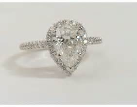 shaped engagement ring pear shaped engagement rings wedding and bridal inspiration