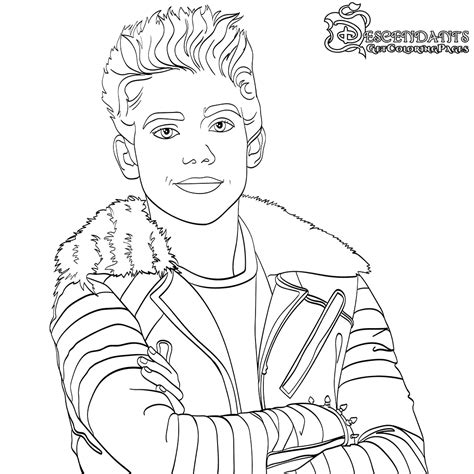 free coloring pages disney descendants top 10 disney descendants 2 coloring pages