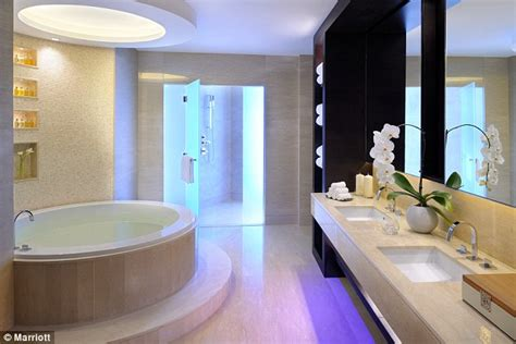hotels with big bathtubs uk jw marriott marquis world s tallest hotel opens in dubai