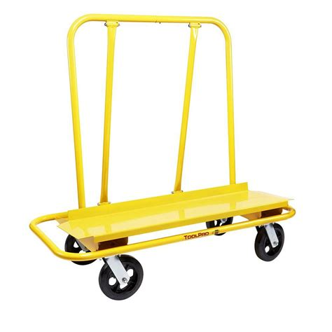toolpro commercial drywall cart tp88300 the home depot