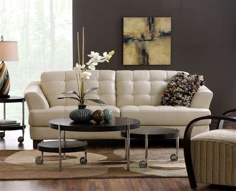 Delray Sofa by Delray Taupe All Leather Sofa Also Available In And