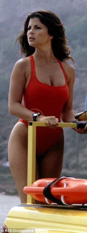 Puts On Baywatch Suit by Ex On The S Goodman Puts On Eye Popping