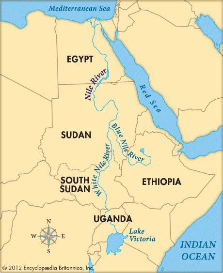 nile river on a africa map s nile water won t be affected by dam