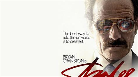 bryan cranston stan lee fan poster for a stan lee biopic starring bryan cranston