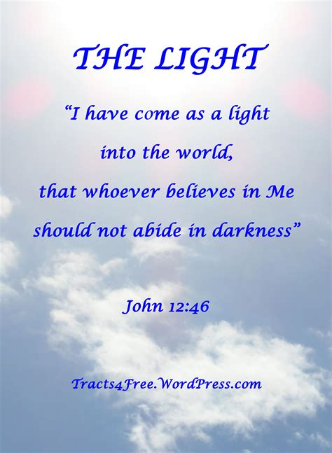 Be The Light Bible Verse by Bible Verse Posters 1 Christianpostersfree