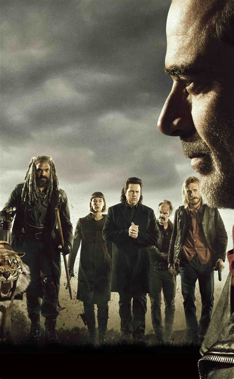 The Walking Dead Zenfone 5 the walking dead cast poster hd 4k wallpaper